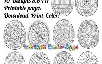 Easter Egg Coloring Pages Free Download