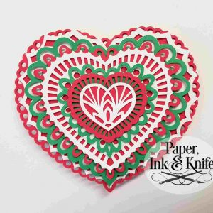 Heart Layered Ornament
