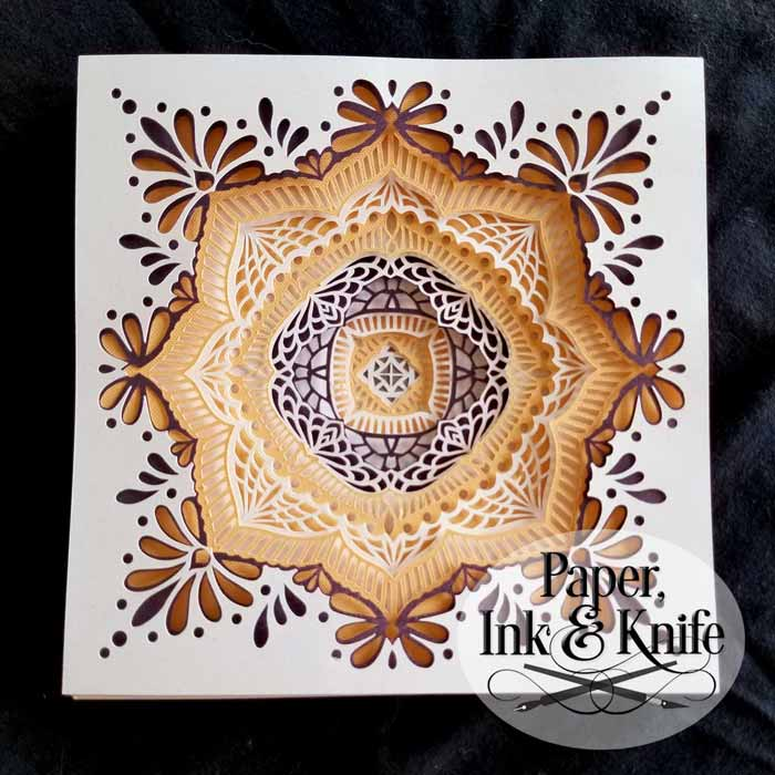 Mystic Magic Mandala Shadowbox