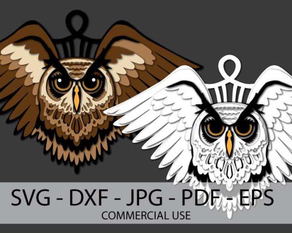 Owl Ornament Files