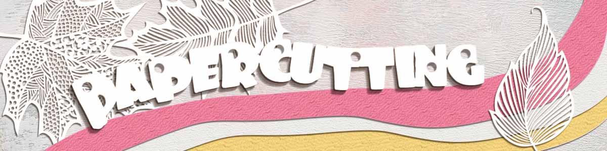 Papercutting Header