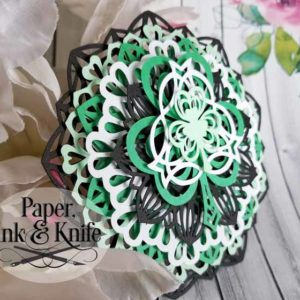 Shamrock Layered Ornament Template