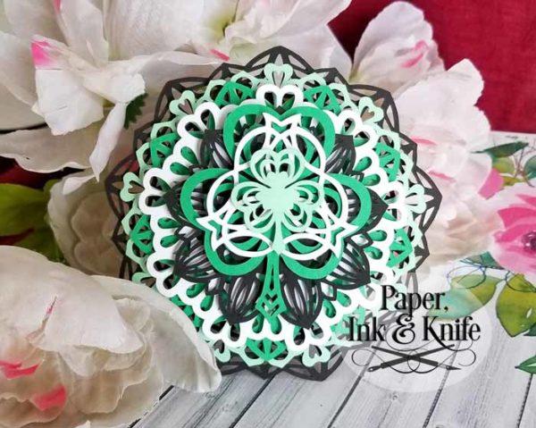 Shamrock Layered Ornament Template