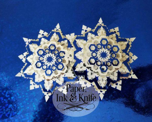 Snowflake 2 Ornament Template